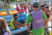 kayaks en viveiro