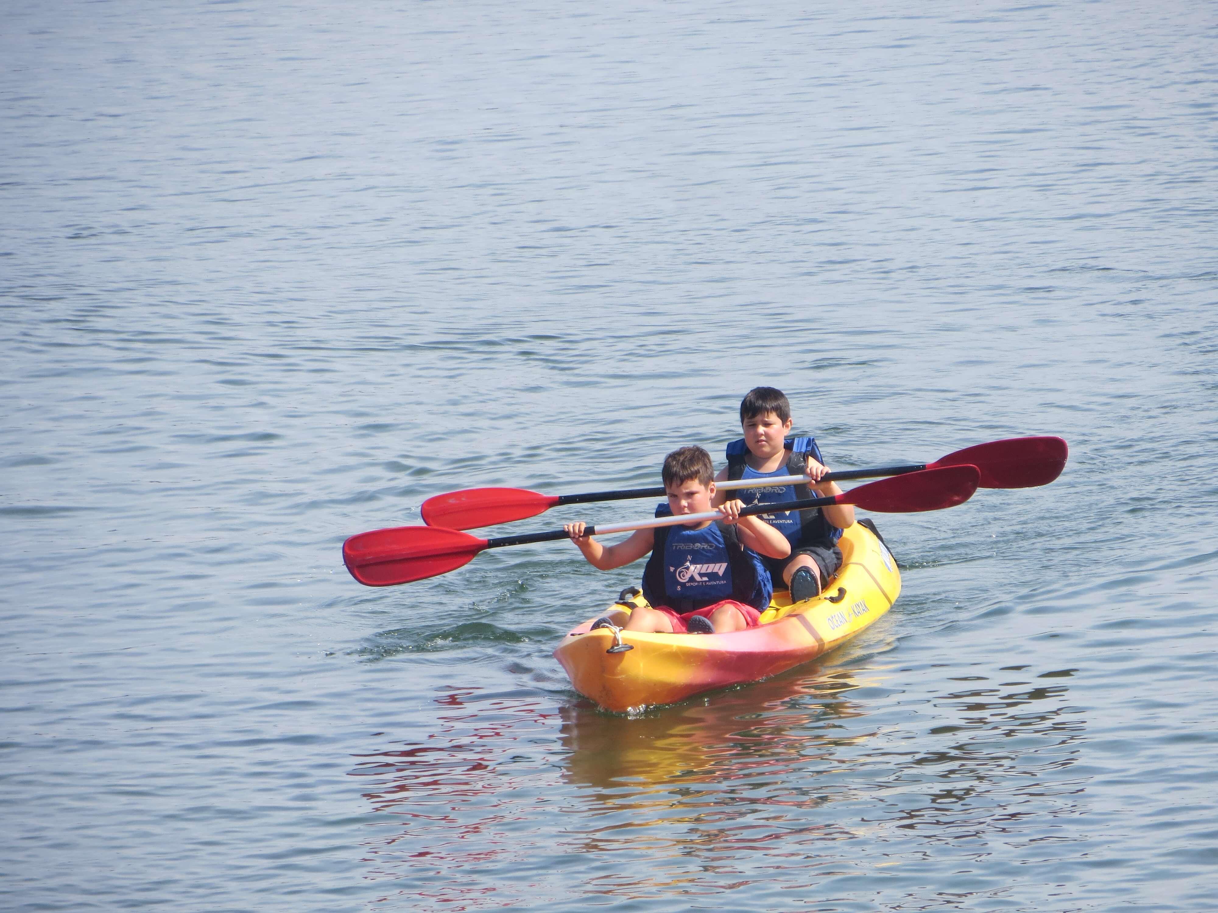Rutas en Kayaks río