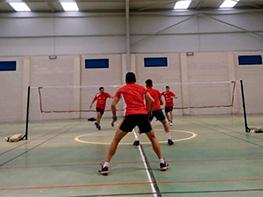 Escuela badminton Viveiro