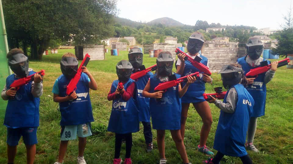 Paintball infantil en Viveiro