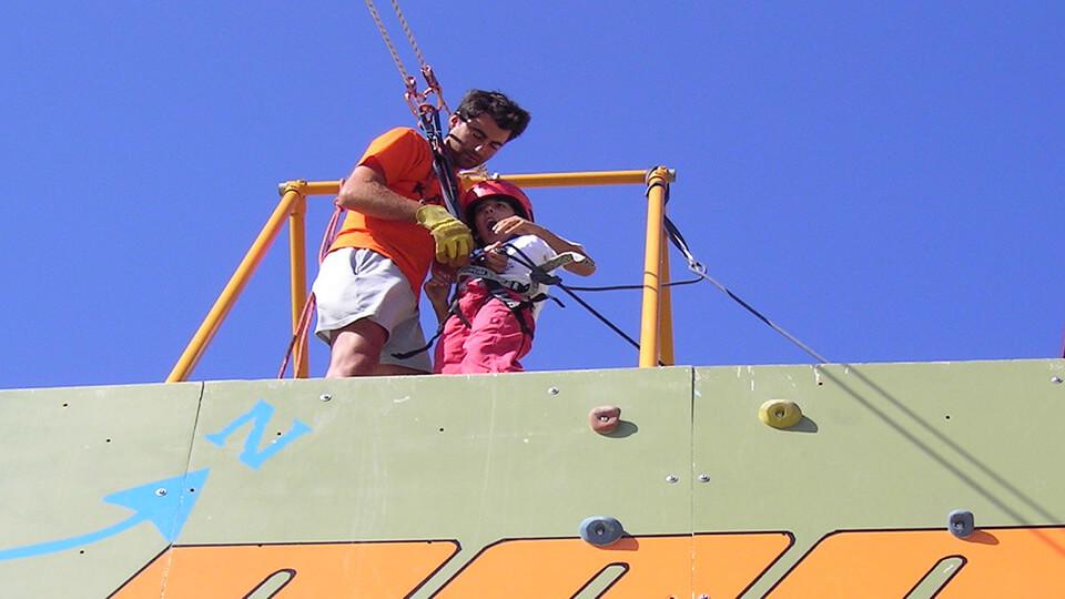 Tirolina para niños en Viveiro